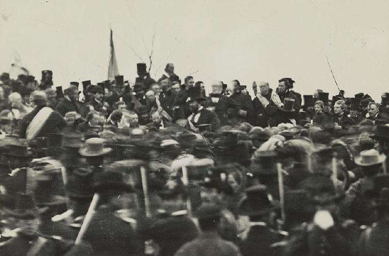 Abraham Lincoln's Gettysburg Address 19 November 1863