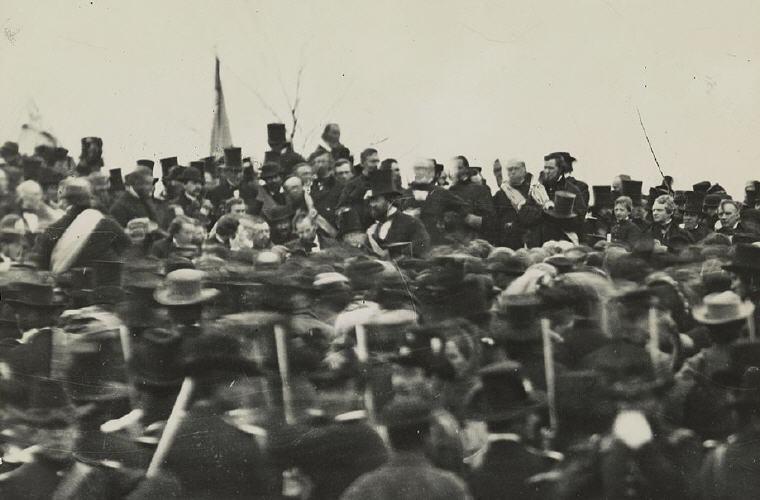 Abraham Lincoln's Gettysburg Address 19 November 1863