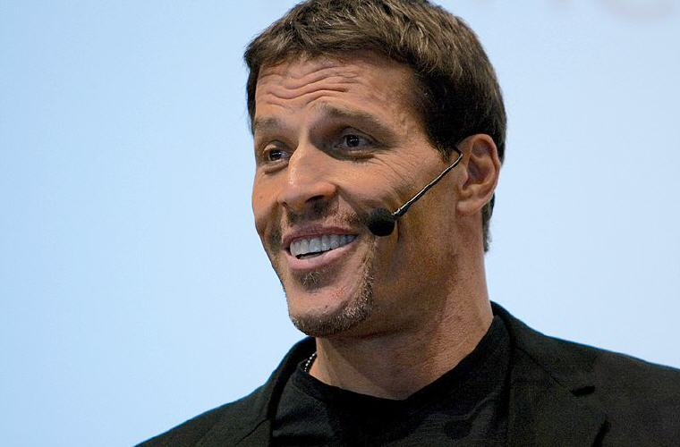 Anthony Robbins Love Quotes and Sayings, Photo credit: Wikipedia