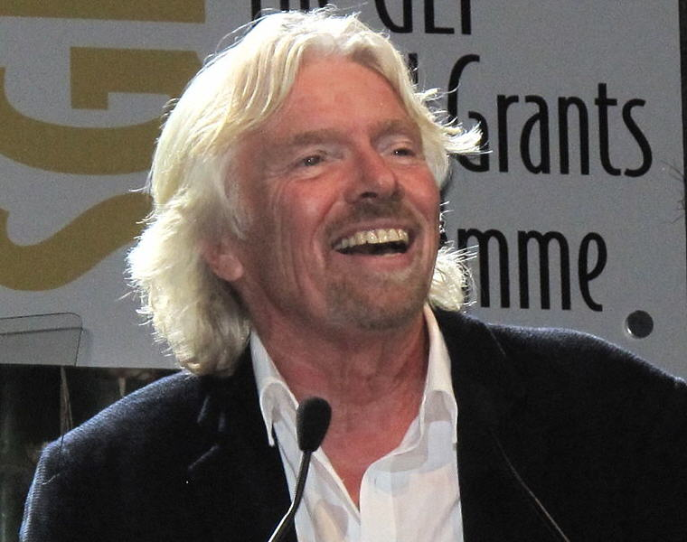 Branson at the United Nations Conference on Sustainable Development in 2012, Photo credit: Wikipedia