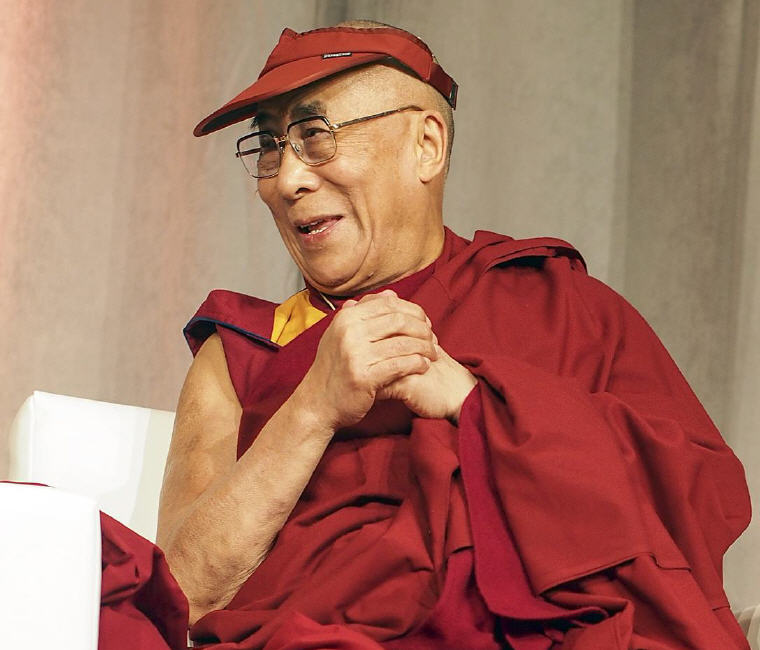 "Dalai Lama, ""If you want others to be happy, practice compassion. If you want to be happy, practice compassion."" Photo credit: Wikipedia"