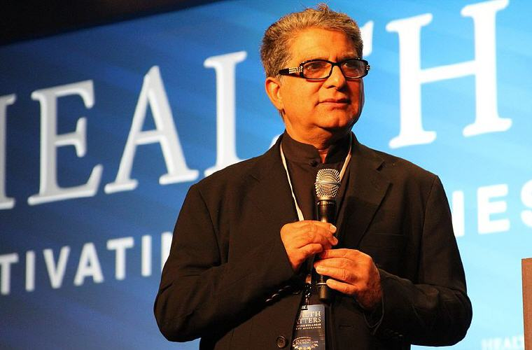 Photo credit: Wikipedia, Deepak Chopra Quotes and Sayings