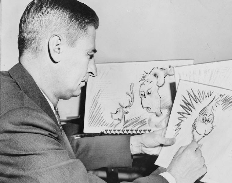 Dr Seuss at Work, Dr Seuss Love Quotes