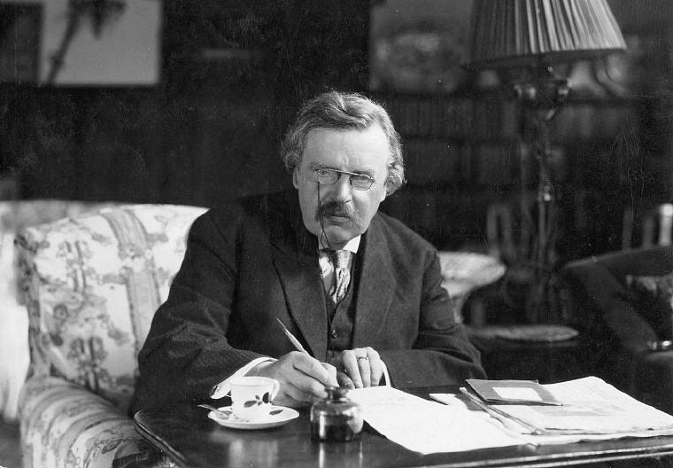 Photo credit: Wikiquote, G K Chesterton Quotes and Sayings
