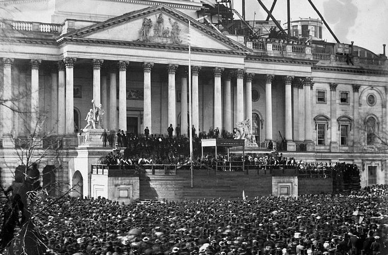 Inauguration of Mr. Abraham Lincoln, March 4, 1861