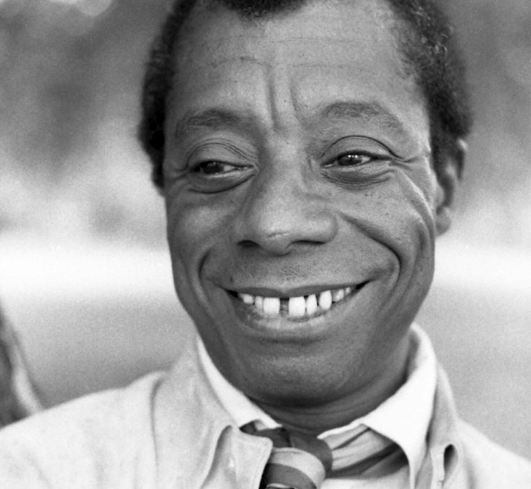 James Baldwin, Hyde Park, London, Photo credit: Allan warren, Wikipedia