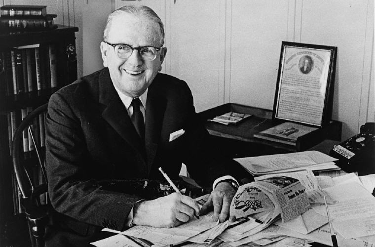 Norman Vincent Peale Positive Thinking Quotes and Sayings