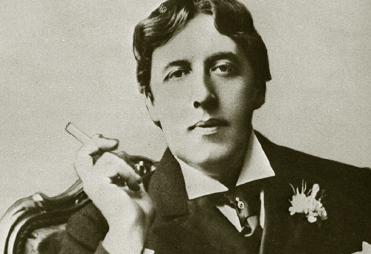 Oscar Wilde at about Thirty