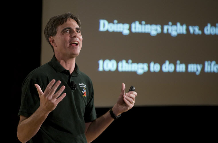Randy Pausch Love Quotes and Sayings