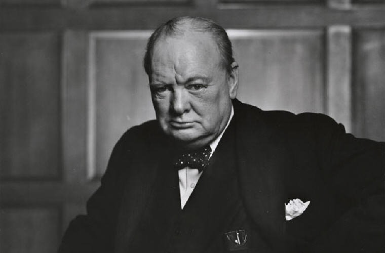 Sir Winston Churchill Quotes and Sayings, Photo credit: Wikipedia