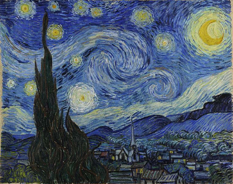 Starry Night by Vincent Van Gogh, Verified Vincent Van Gogh Quotes and Sayings