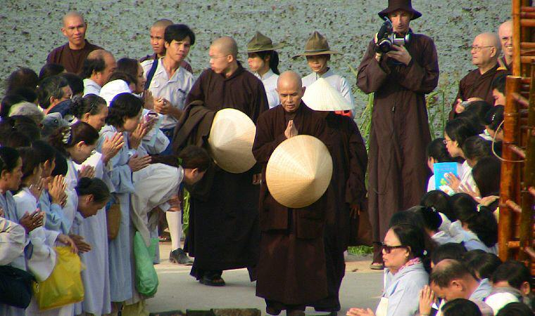 Thich Nhat Hanh, Vietnam, Photo credit: Wikiquote